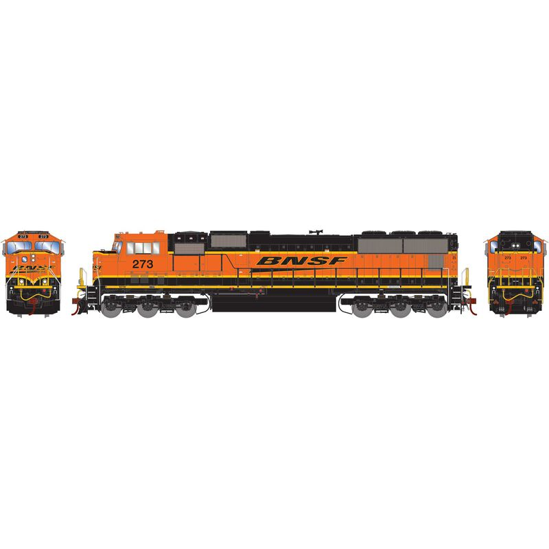 HO SD75M with DCC & Sound BNSF Late Heritage #273