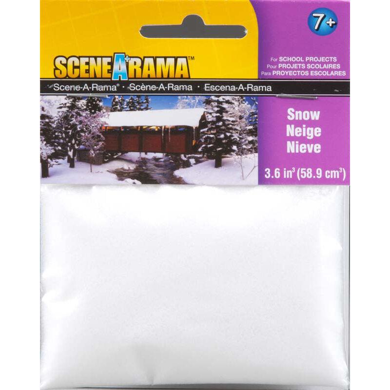 Scene-A-Rama Scenery Bags, Snow 2oz