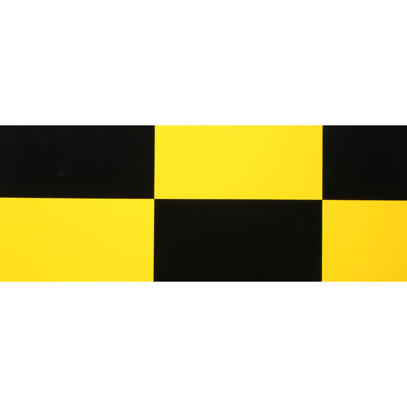 "UltraCote, 1/2"" Squares, Yellow/Blk"