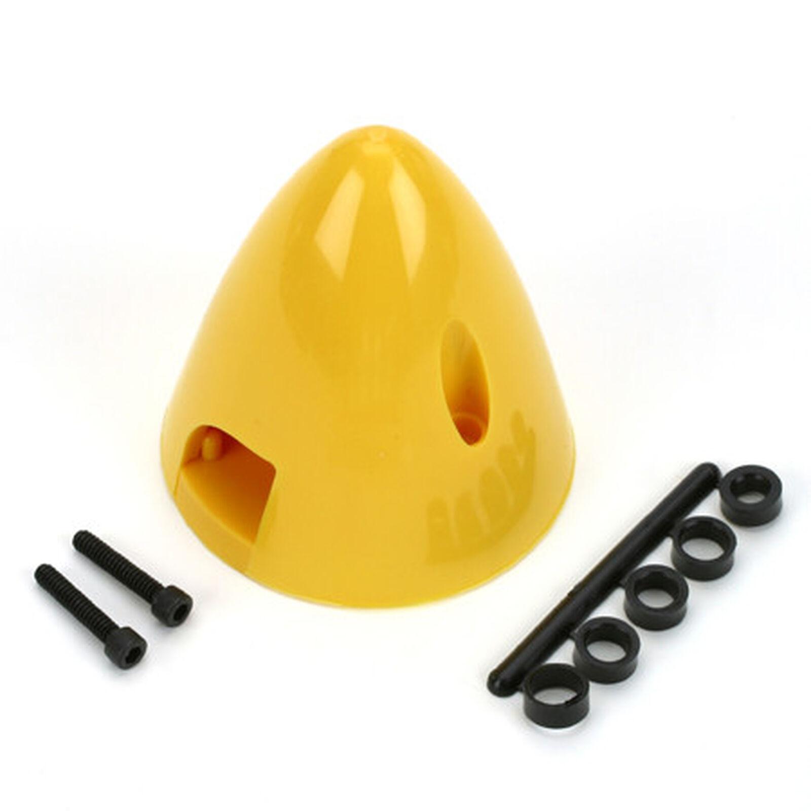 "4 Pin Spinner,2-1/2"" Yellow"