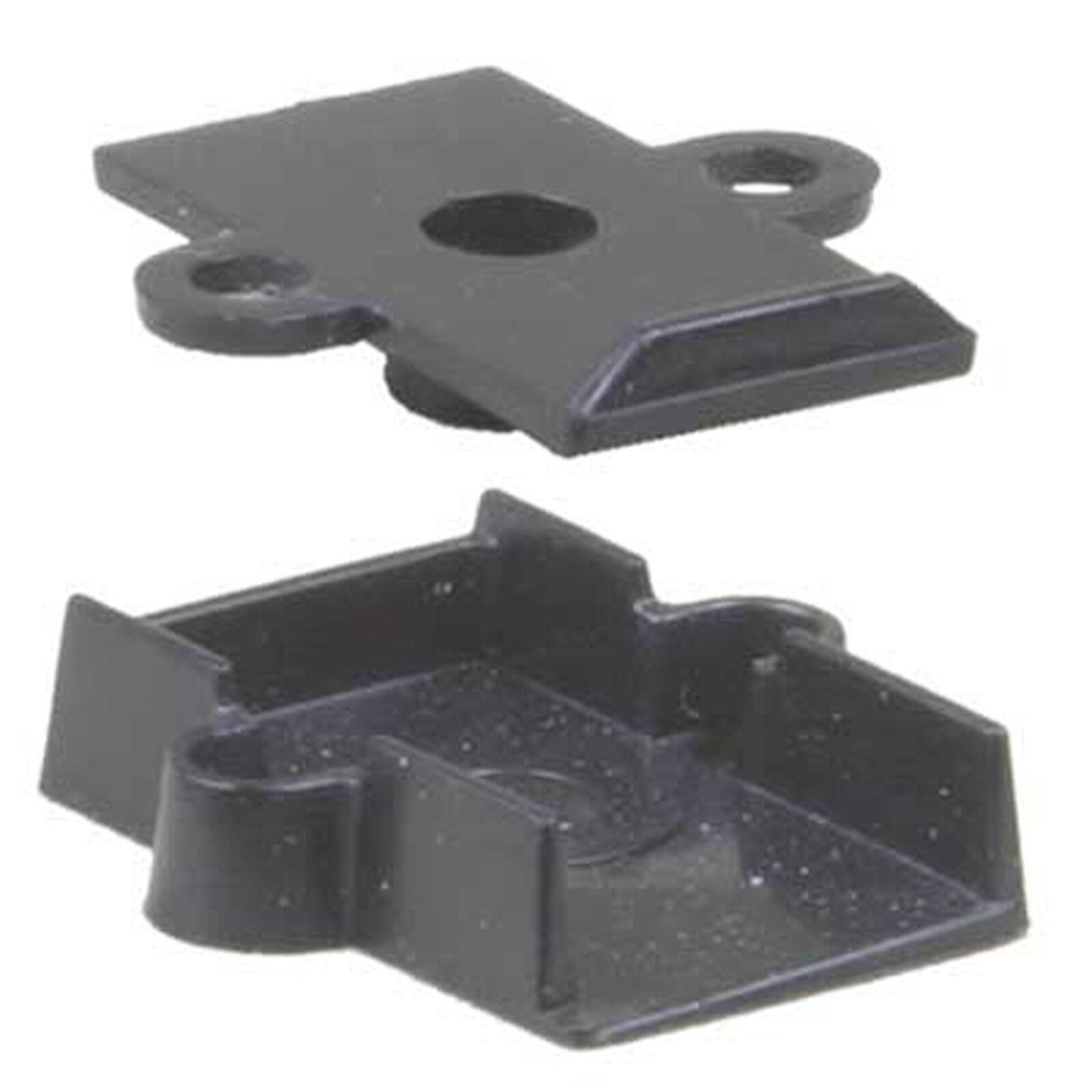 HO Plastic Draft Gear Box, #5 (10)