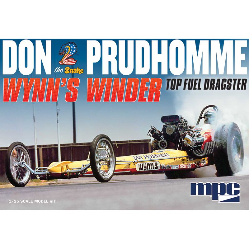 1/25 Wynns Winder Dragster Don Snake Prudhomme