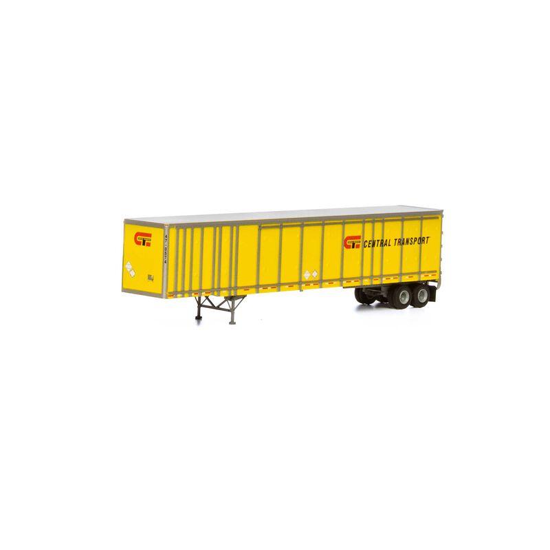 HO RTR 53'Wabash Plate Trailer Central Transport#2