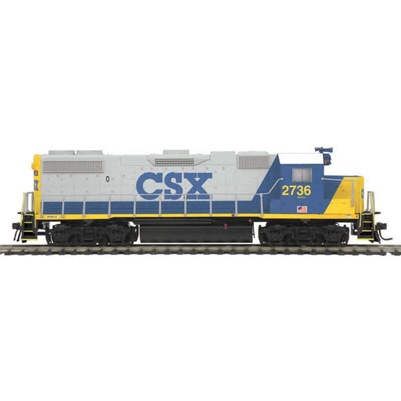 HO GP38-2 with NMRA, CSX #2736