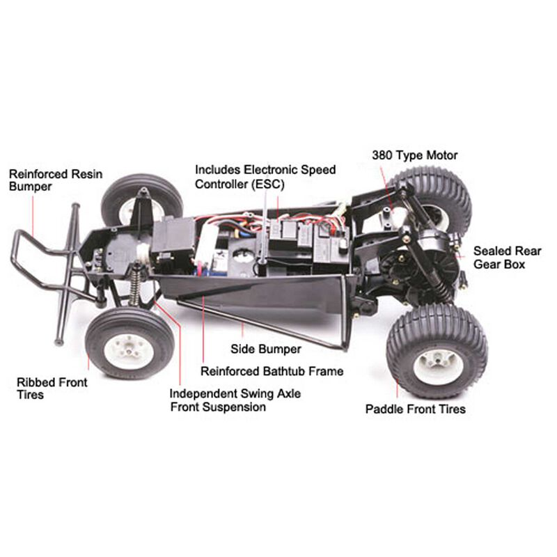 1/10 Grasshopper 2WD Buggy Kit