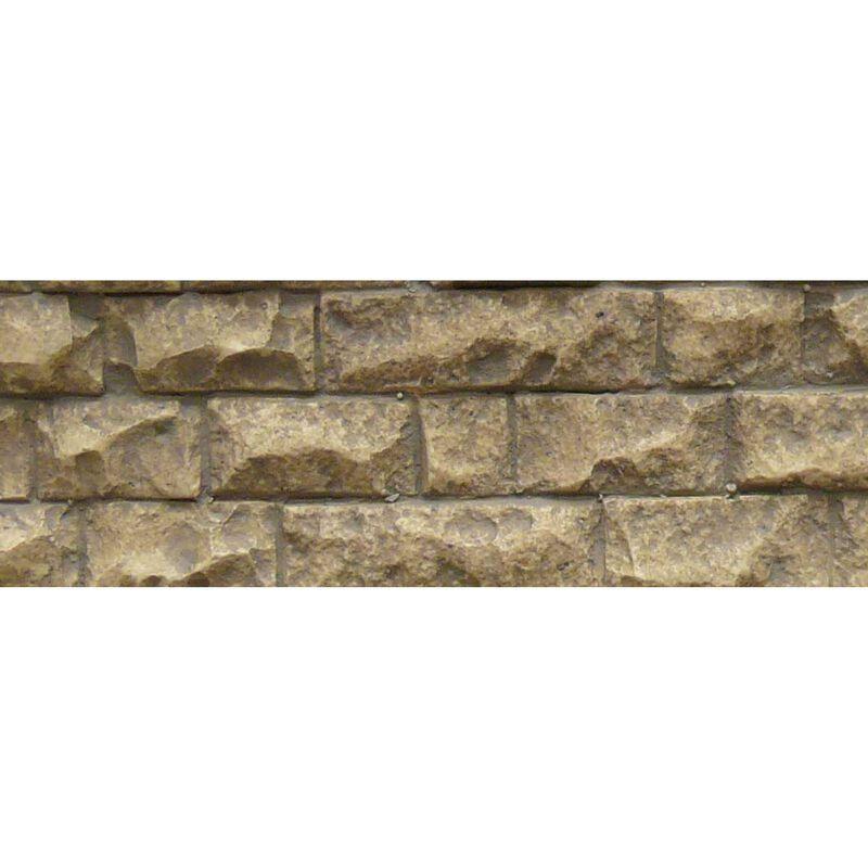 """HO/O Flexible Medium Cut Stone Wall, 3.4""""x13.25"""""""