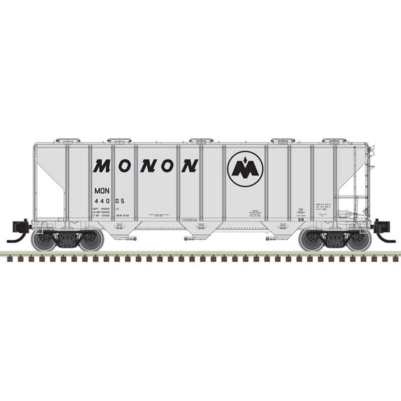 N PS-4000 Hopper Monon* 440025, Gray/Black