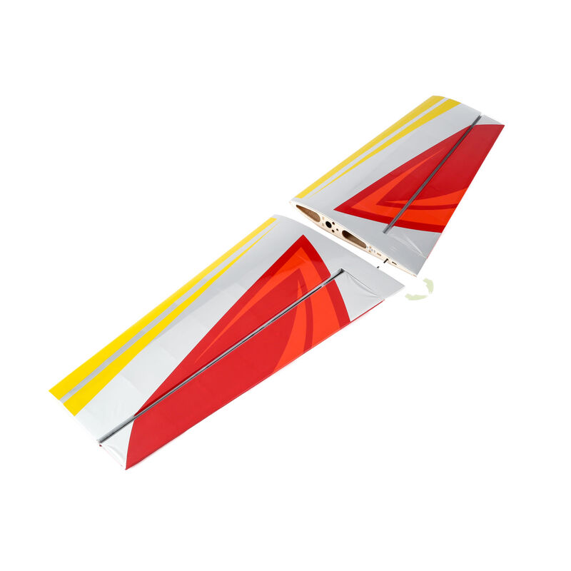Wing Set with Ailerons: Slick 3D 480