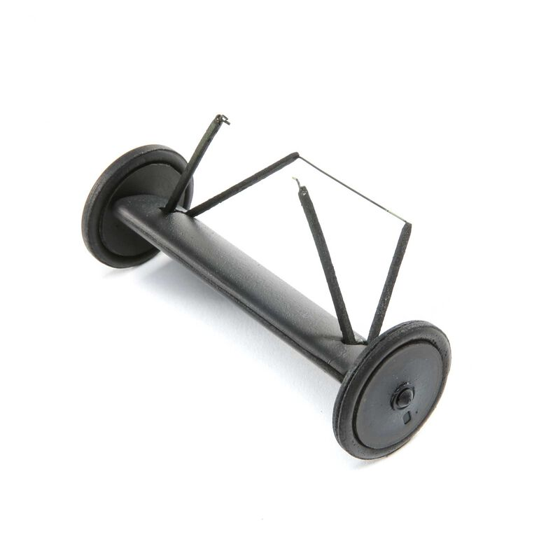 Landing Gear Complete with Wheels: Fokker D-VII Micro EP