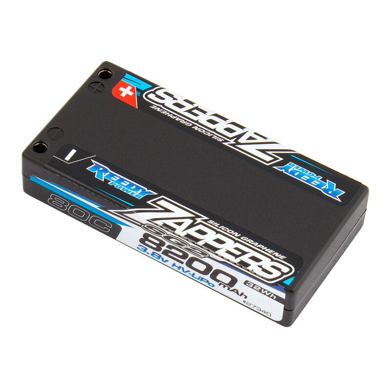 3.8V 8200mAh 1S 80C Reedy Zappers SG2 HV-LiPo Battery: Tubes, 5mm