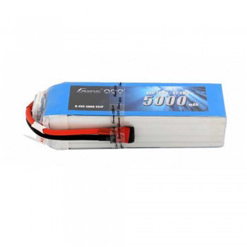 18.5V 5000 Capacity 5S Voltage 45C LiPo, Deans