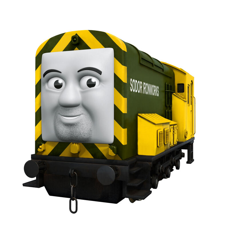 HO Iron Bert with Moving Eyes