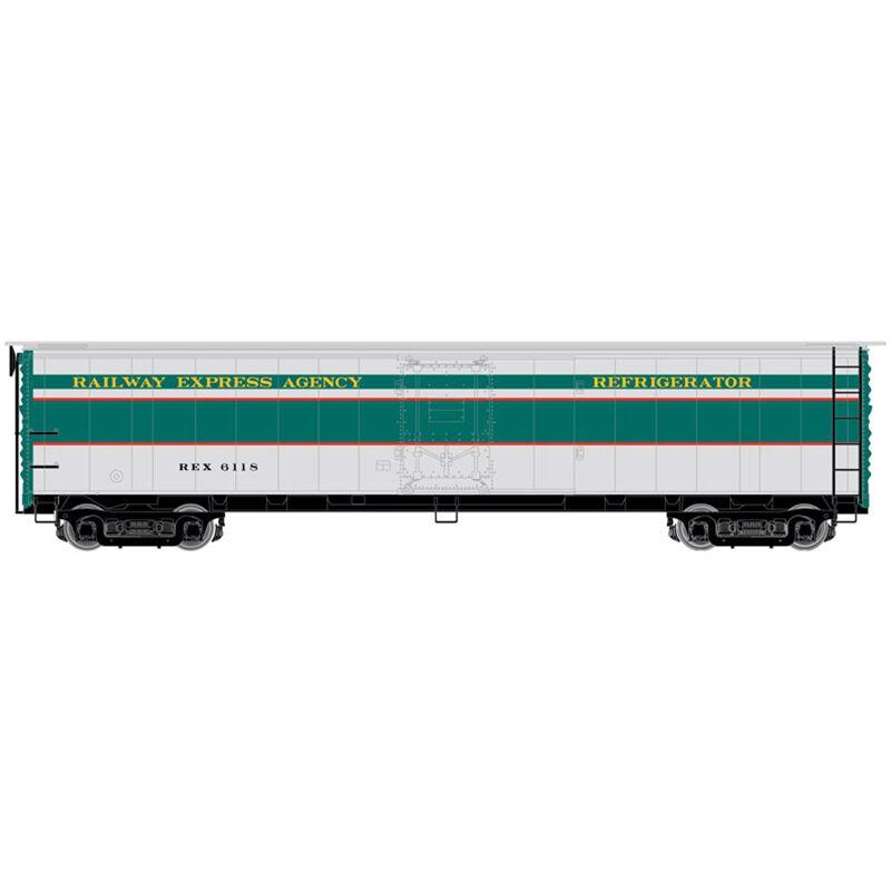 HO ACF Steel Express Reefer REA 1947 #6362