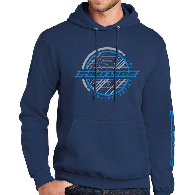 Pro-Line Sphere Navy Hoodie Sweatshirt - Large