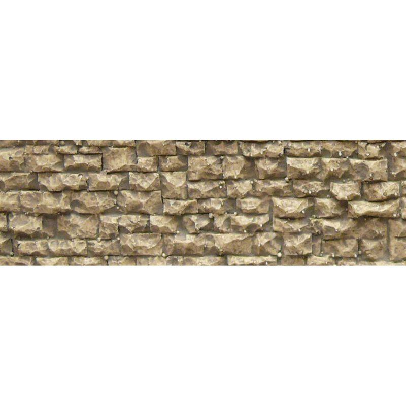 """HO/N Flexible Small Random Stone Wall, 3.5""""x13"""""""