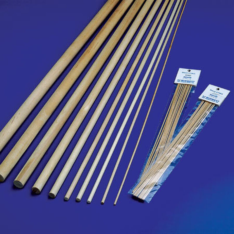 """Wood Dowels 1/4 x 36"""" (30)"""