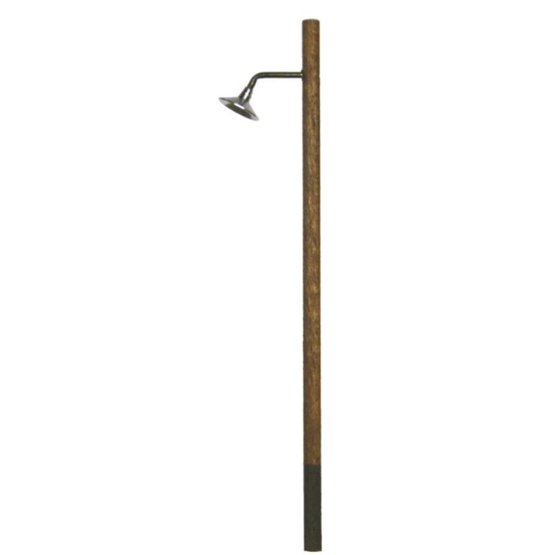 HO Lighting System 45 degree Hi-Hat Wooden Pole
