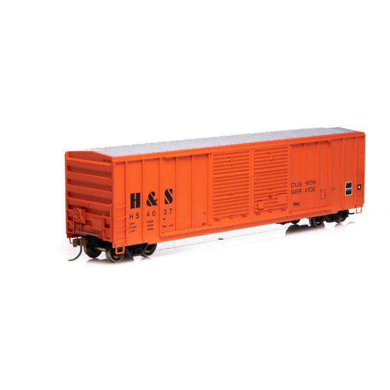 HO RTR 50' FMC Centered Double Door Box H&S #4027