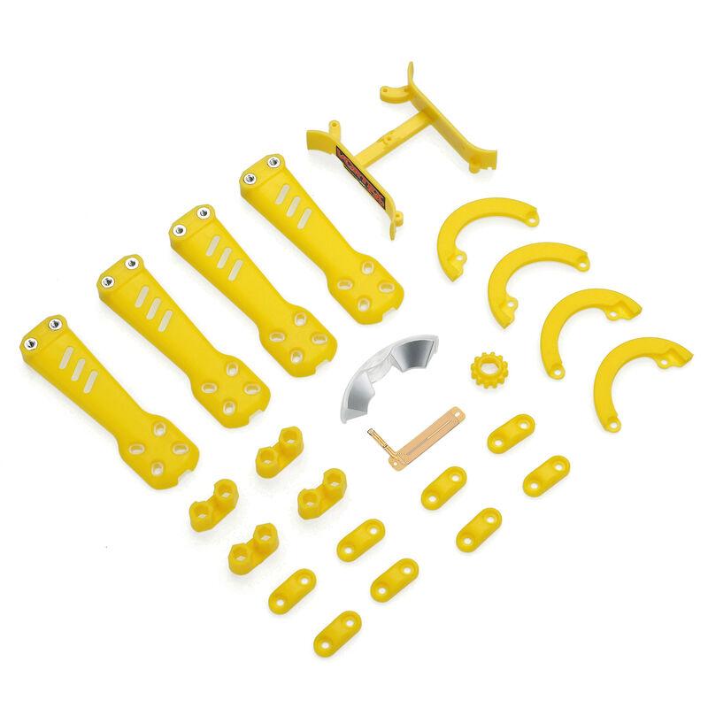 Plastic Kit, Yellow: Vortex 230
