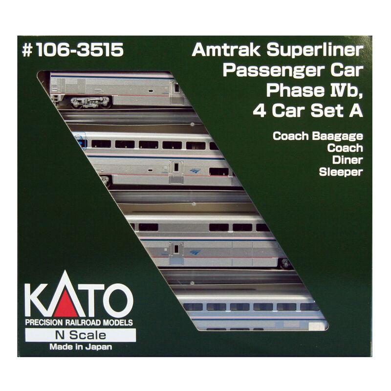N Superliner Set Amtrak Phase IVb A (4)