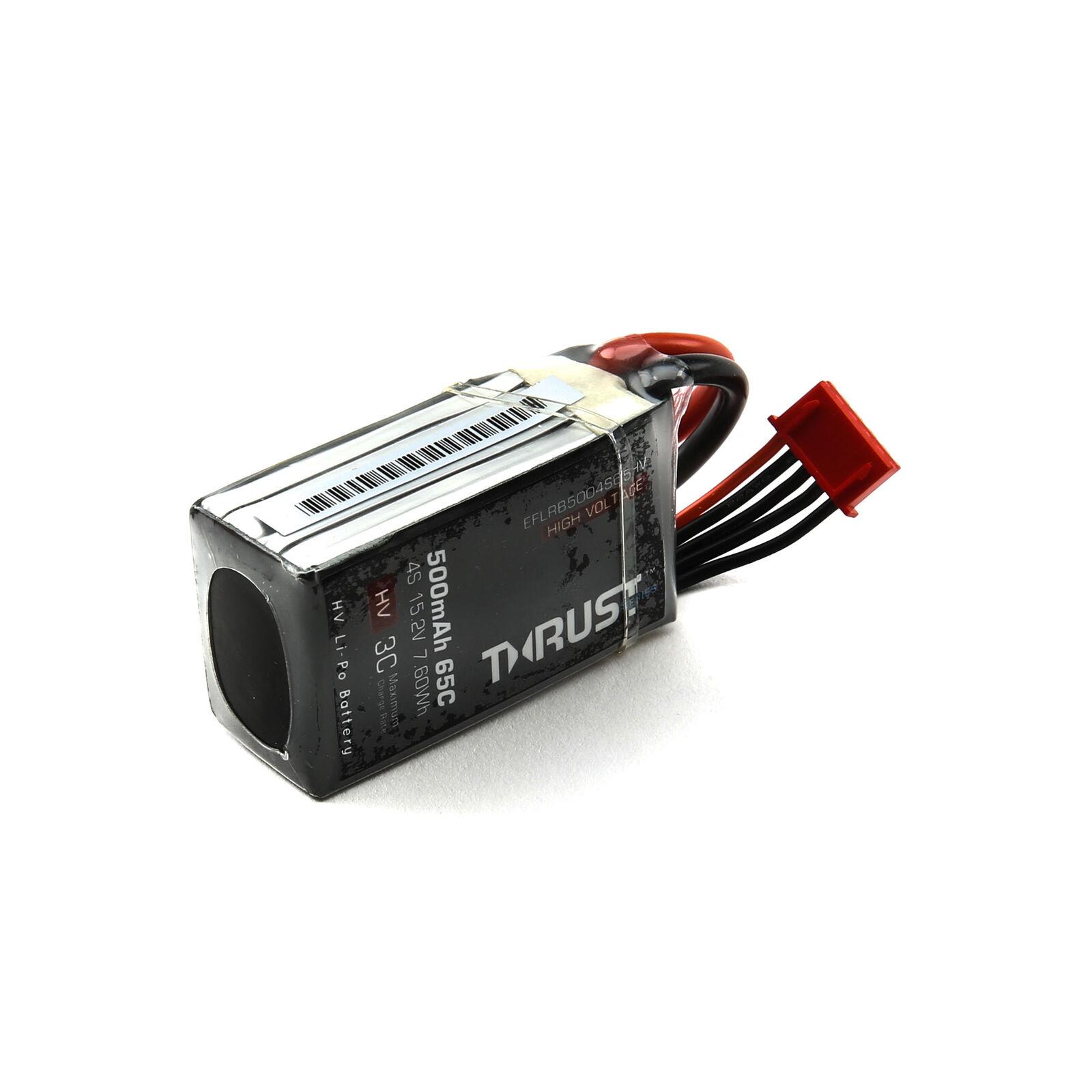 15.2V 500mAh 4S 65C Thrust FPV HV-LiPo Battery: XT30