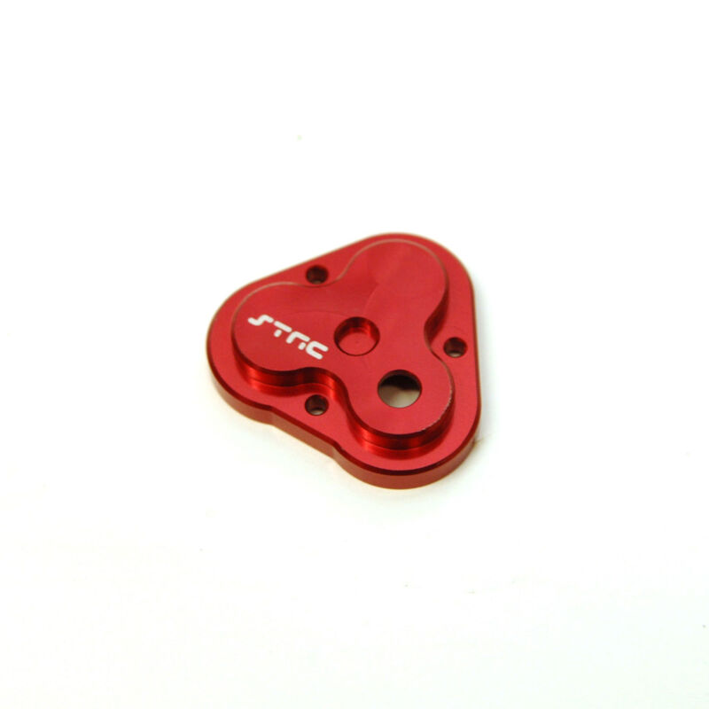 Aluminum Center Gearbox Housing Cover, Red: TRX-4