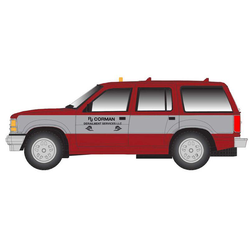 N Ford Explorer RJ Corman, Red/Silver