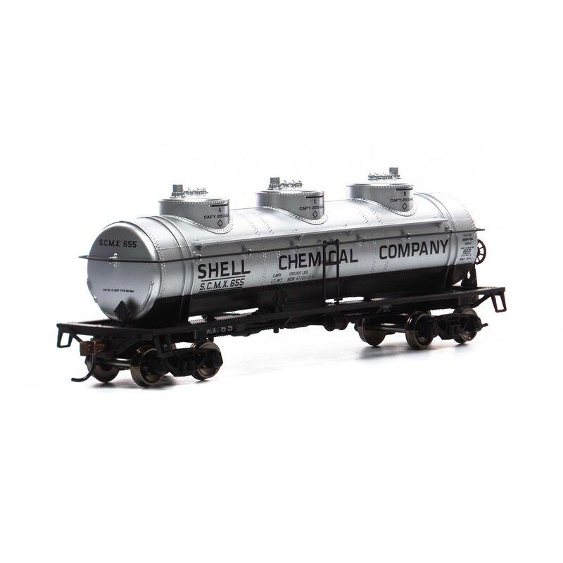 HO 3-Dome Tank, SCMX #655