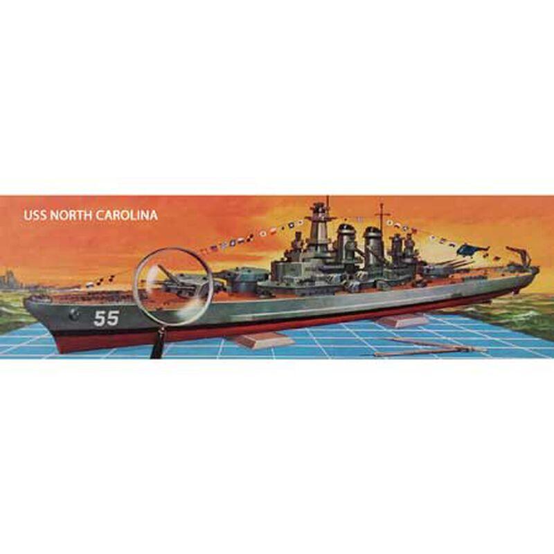USS North Carolina BB-55 Battleship