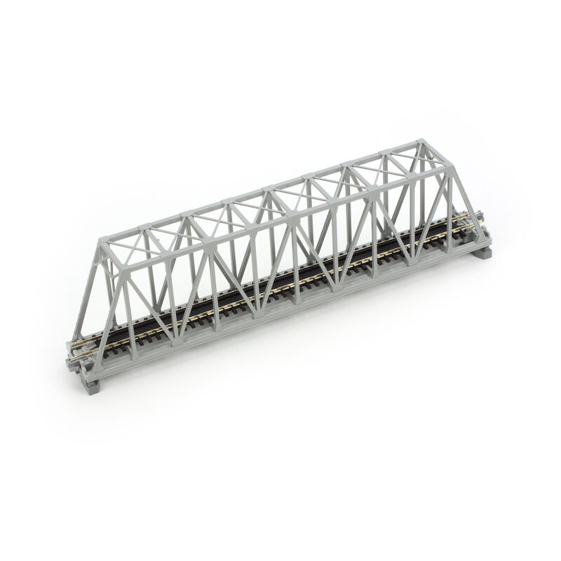 "N 248mm 9-3/4"" Truss Bridge, Gray"