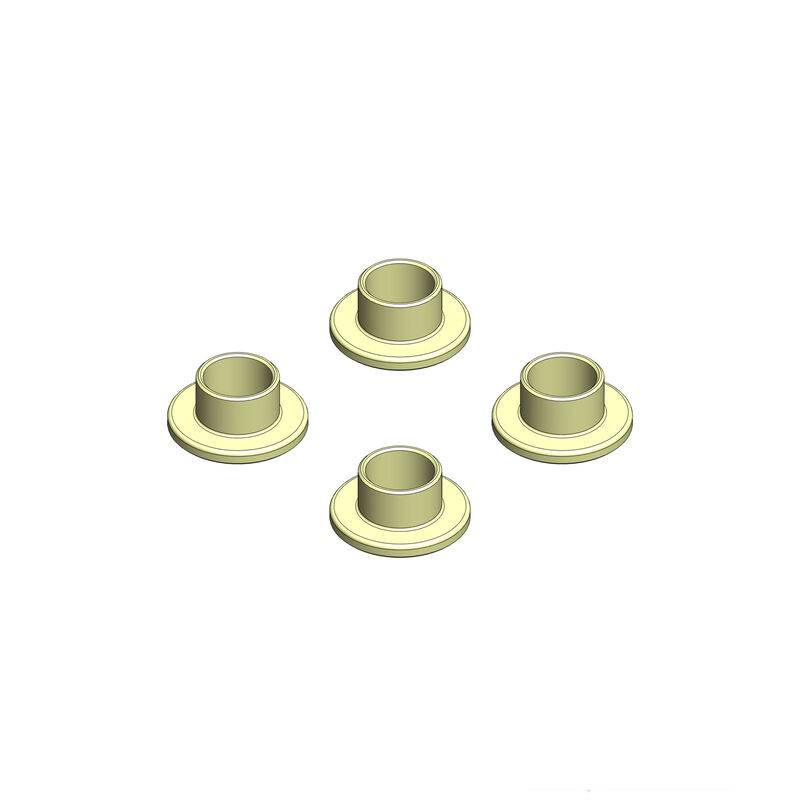 Bypass1 Stop Washers (4): TLR, Hot Bodies 1/8th