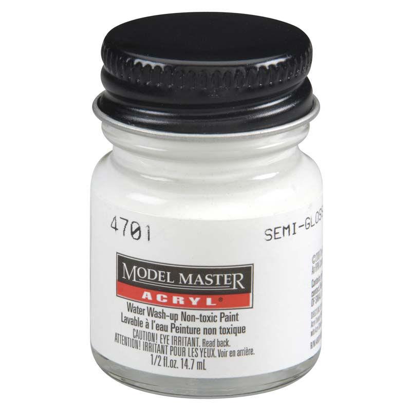 Acryl Semi-Gloss 1/2oz White