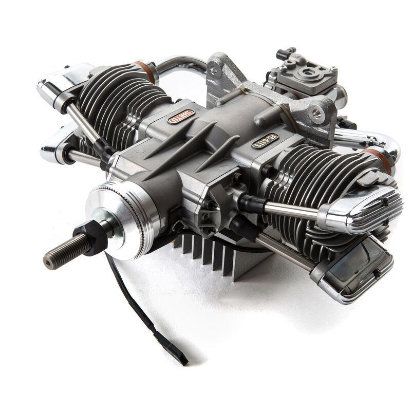 FG-61TS 61cc 4-Stroke Gas Twin Engine: CC