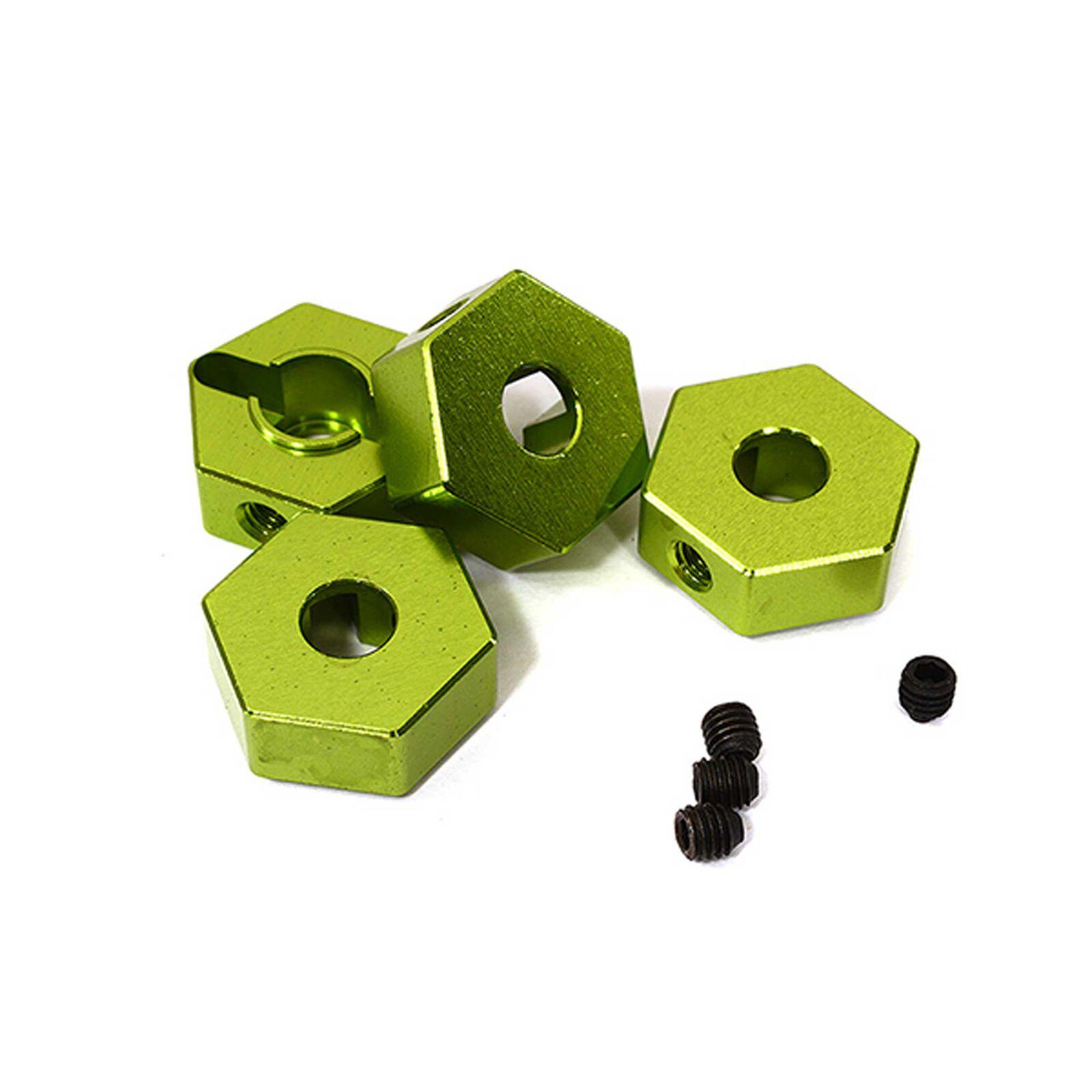 Wheel Hex, Green (4): ARRMA 1/10 GRANITE 4x4 3S BLX