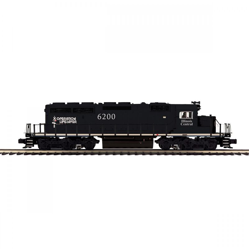 O-27 SD40-2 with PS3 IC #6200