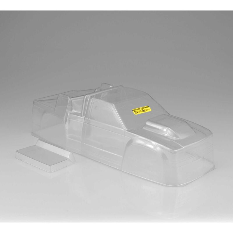 1/10 Team Truck Authentic Clear Body: RC10T