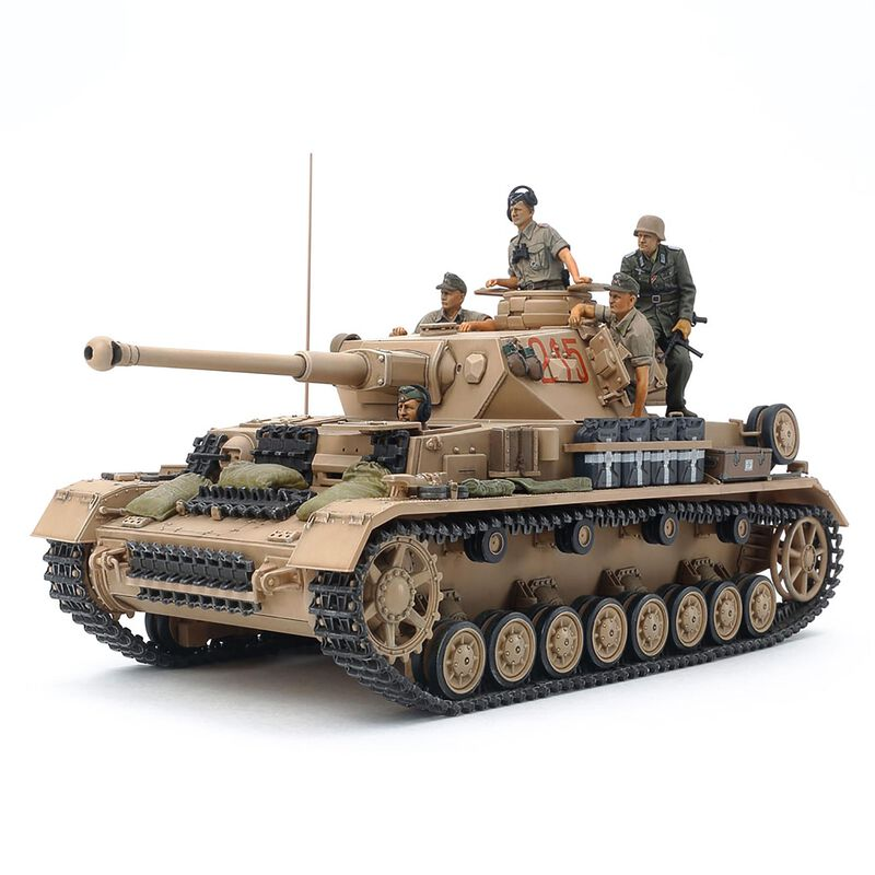 1/35 German Tank Panzerkampfwagen IV Ausf. G