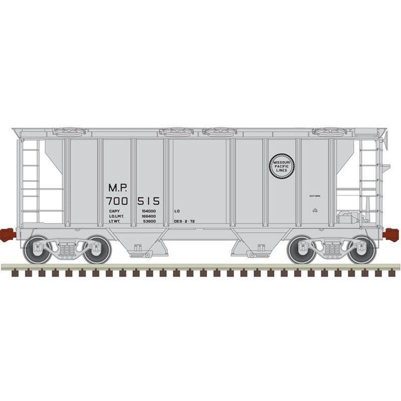 HO Trainman PS-2 Covered Hopper MP #700530