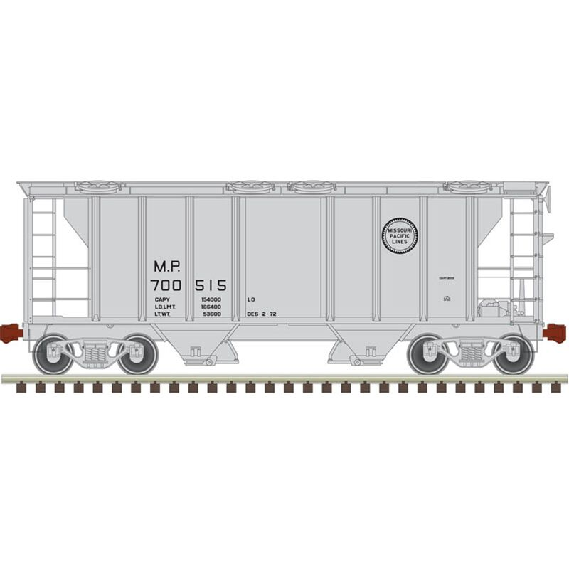 HO Trainman PS-2 Covered Hopper MP #700557