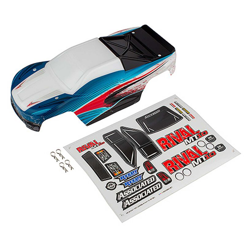 Body, red/blue: Rival MT10