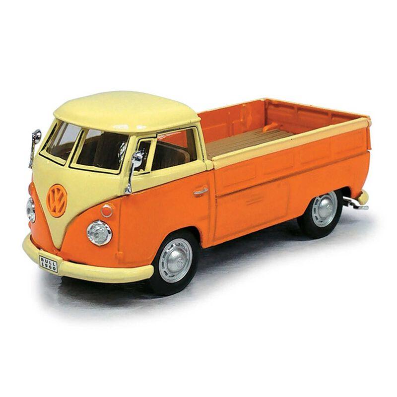 Cararama 1 43 VW T1 Pickup, Orange