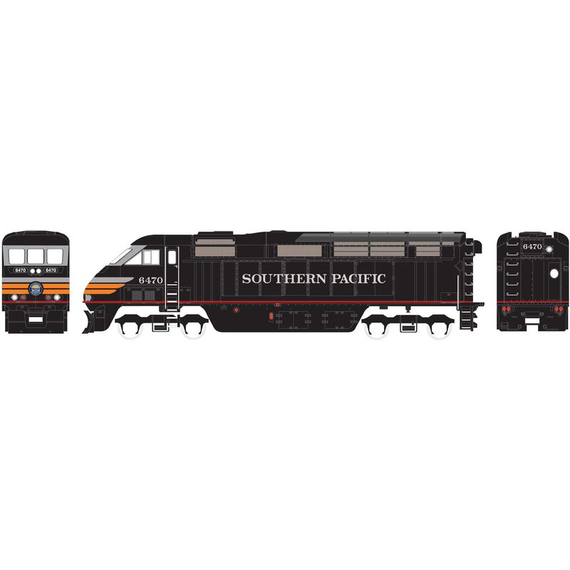 HO RTR F59PHI with DCC & Sound SP #6470