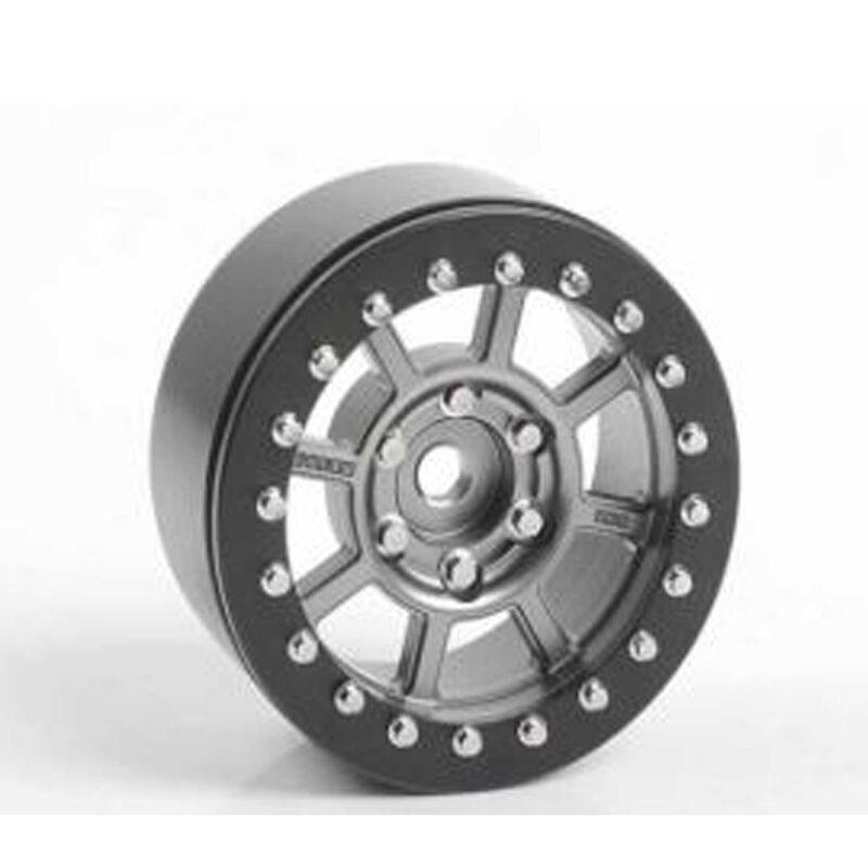 """Level 8 Bully Pro 6 1.9"""" Beadlock Wheels (2)"""