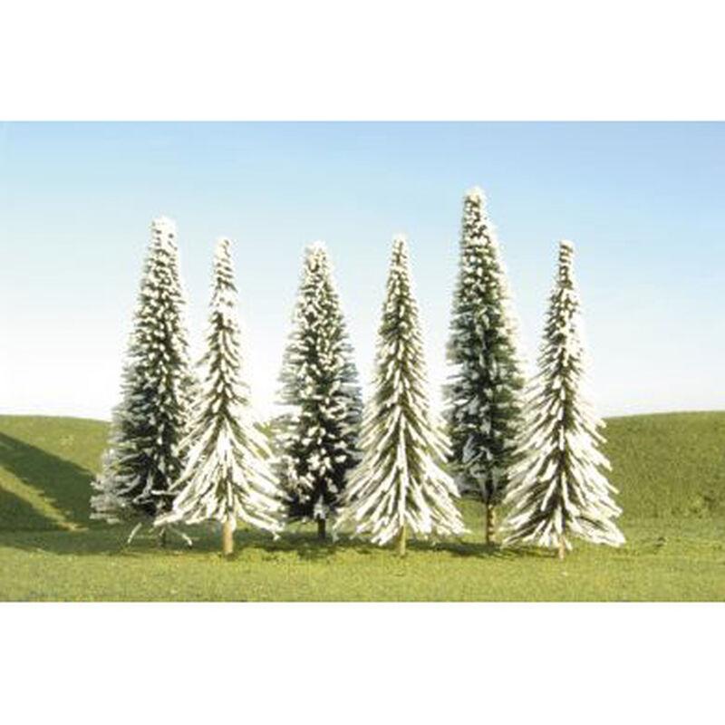 "Scenescapes Pine Trees w/Snow, 5-6"" (24)"