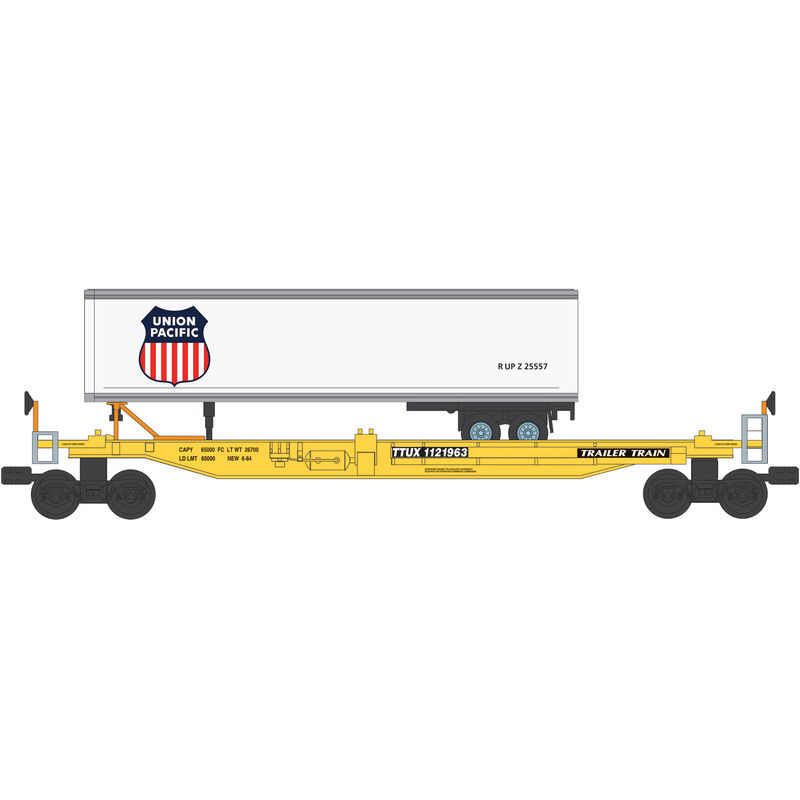 O Williams Front Runner with Trailer, UP