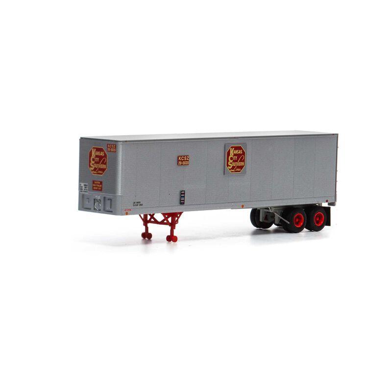 HO RTR 40' Fruehauf Z-Van Trailer KCS #20-5035