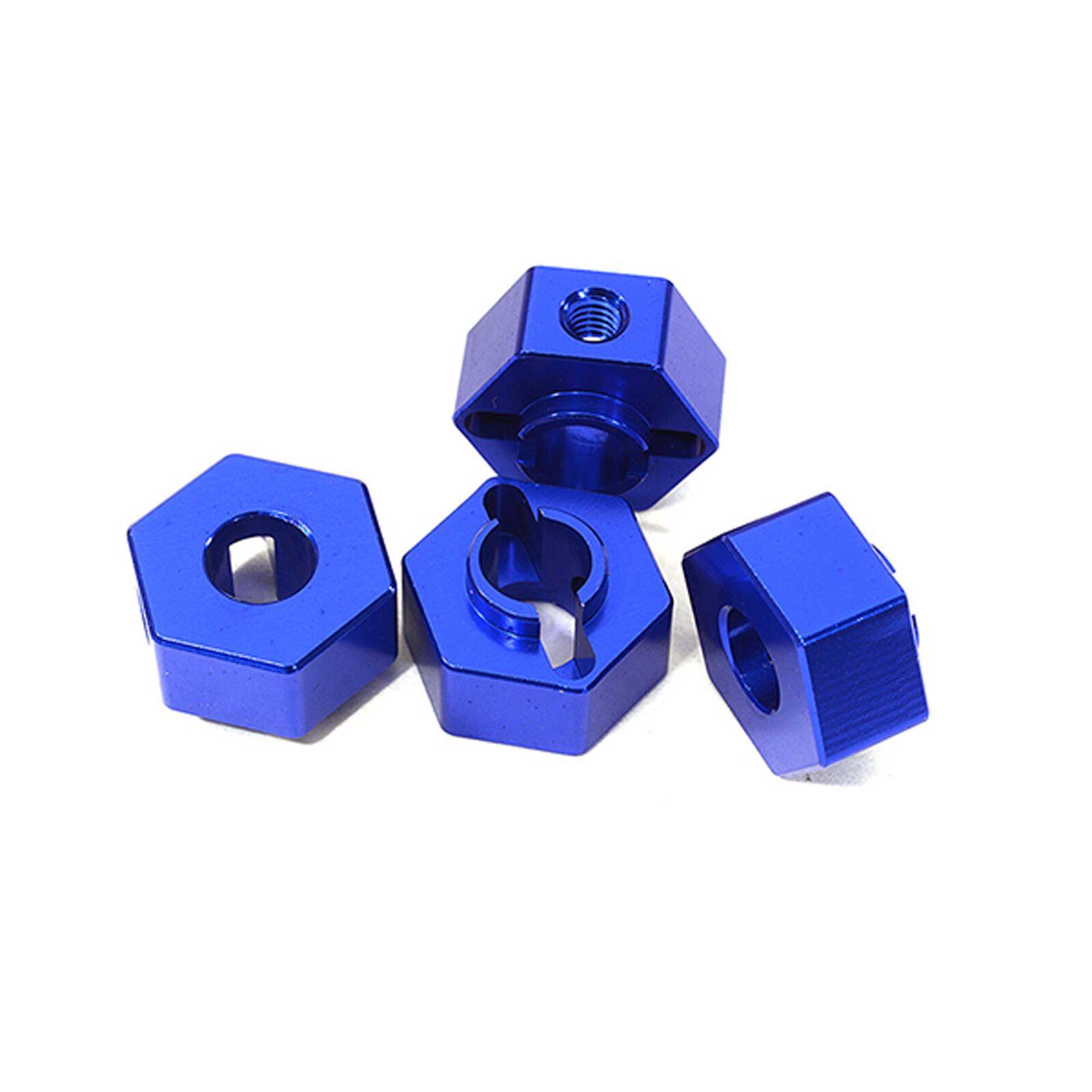 Wheel Hex, Blue (4): ARRMA 1/10 GRANITE Voltage