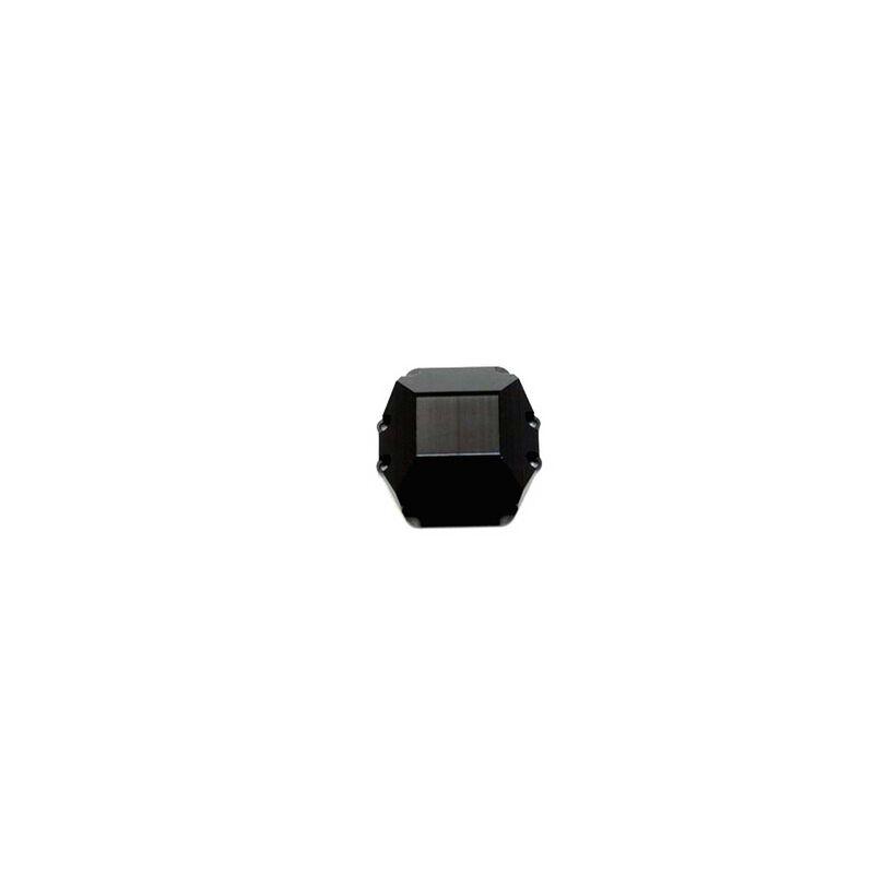 CNC Mach Alum HD Diff Cover   Wraith Black