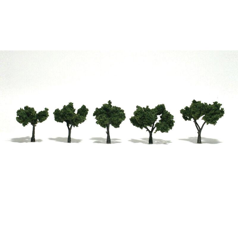 """Ready-Made Tree, Medium Green 1.25-2"""" (5)"""