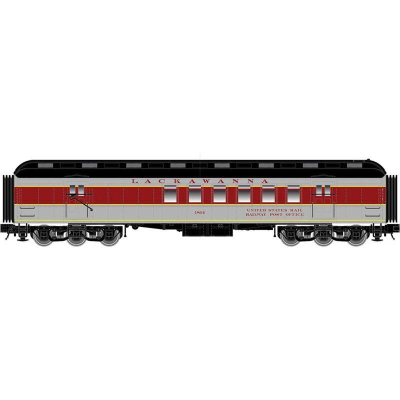N Trainman 60' RPO Car EL #1814